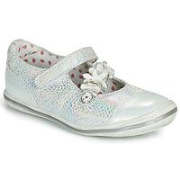 Schuhe Mädchen Ballerinas Catimini STROPHAIRE Silbern
