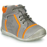 Schuhe Jungen Boots Catimini SEREVAL Nus / Grau-orange / Dpf / Kimbo