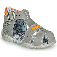 Schuhe Jungen Sandalen / Sandaletten Catimini SPHINX Grau / Orange