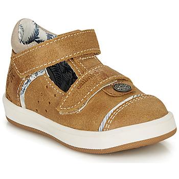 Schuhe Jungen Sandalen / Sandaletten Catimini SAUTERIAU Stein / kaffee / Dpf / 2921