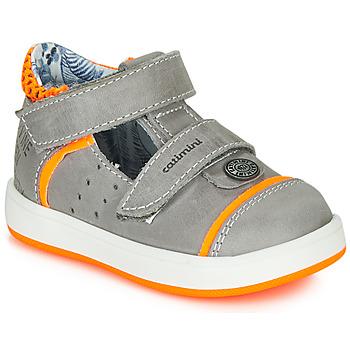 Schuhe Jungen Sandalen / Sandaletten Catimini SAUTERIAU Nus / Grau-orange / Dpf / 2921