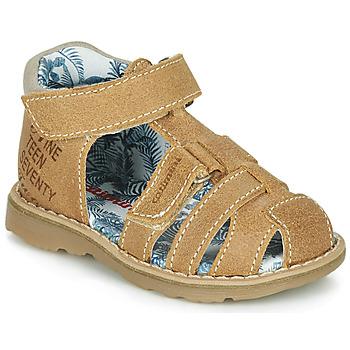 Schuhe Jungen Sandalen / Sandaletten Catimini SYCOMORE Stein / kaffee / Dpf / Trony