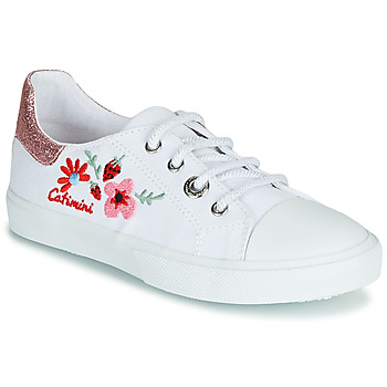 Schuhe Mädchen Sneaker Low Catimini SAXIFAGE Weiss