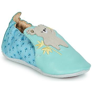 Schuhe Kinder Babyschuhe Catimini SHIVA Blau / Grau