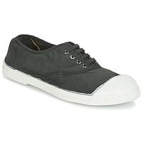 Schuhe Damen Sneaker Low Bensimon TENNIS LACET Grau