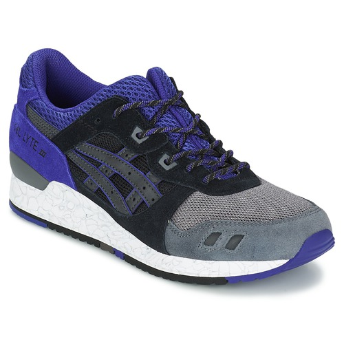 Sneaker Asics GEL-LYTE III Schwarz / Blau 350x350