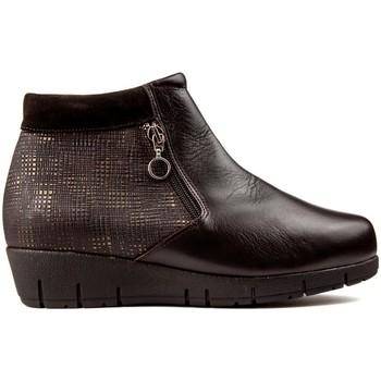 Schuhe Damen Low Boots Dtorres DOTS THAIS CREMALLERA FLASCHEN braun