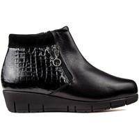 Schuhe Damen Low Boots Dtorres DOTS THAIS CREMALLERA FLASCHEN schwarz