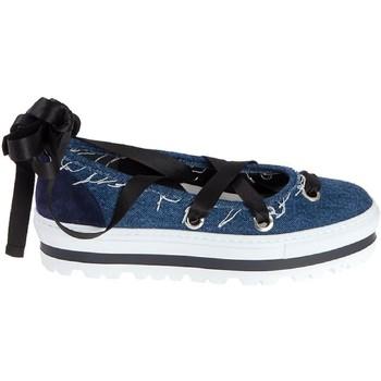 Schuhe Damen Ballerinas Msgm 2241MDS09Y 020 Jeans