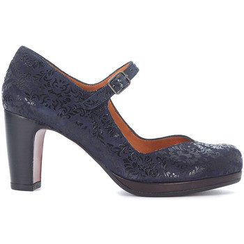 Schuhe Damen Pumps Chie Mihara Pumps Prenda in Leder Blau Blue