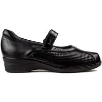 Schuhe Damen Ballerinas Dtorres BALLERINAS  LIEGE VELCRO schwarz