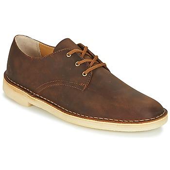Schuhe Herren Derby-Schuhe Clarks DESERT CROSBY Honig