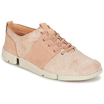 Schuhe Damen Sneaker Low Clarks TRI CAITLIN Rose