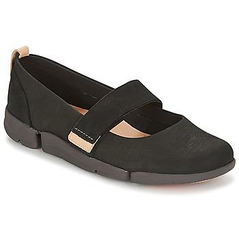 Schuhe Damen Ballerinas Clarks TRI CARRIE Schwarz