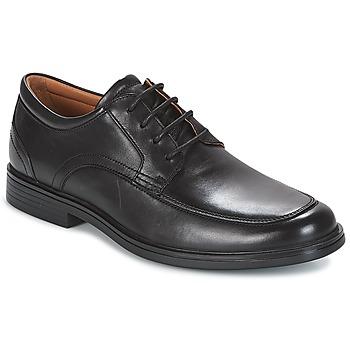 Schuhe Herren Derby-Schuhe Clarks UN ALDRIC PARK Schwarz