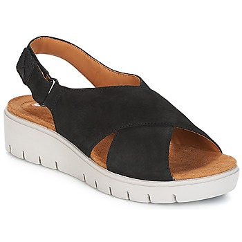 Schuhe Damen Sandalen / Sandaletten Clarks UN KARELY HAIL Schwarz