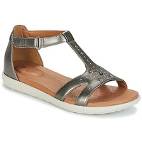 Schuhe Damen Sandalen / Sandaletten Clarks UN REISEL MARA Silbern
