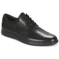 Schuhe Herren Derby-Schuhe Clarks VENNOR WALK Schwarz