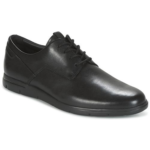 Clarks VENNOR WALK Schwarz Schuhe Derby-Schuhe Herren 80