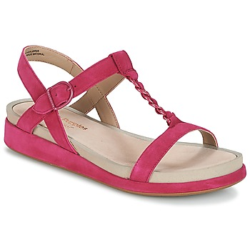 Schuhe Damen Sandalen / Sandaletten Hush puppies CHAIN T Himbeer