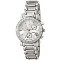 Uhren Damen Armbandühre Invicta Wildflower Chronograph 4718 weiss