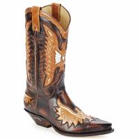 Schuhe Herren Klassische Stiefel Sendra boots CHELY Braun