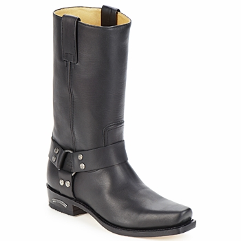 Schuhe Herren Klassische Stiefel Sendra boots EDDY Schwarz