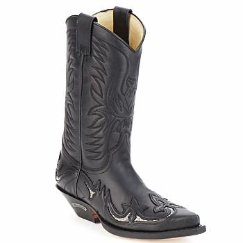 Schuhe Klassische Stiefel Sendra boots CLIFF Schwarz