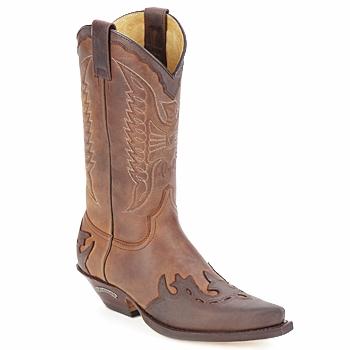Schuhe Klassische Stiefel Sendra boots DAVIS Braun