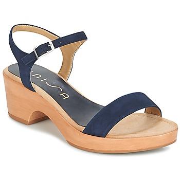 Schuhe Damen Sandalen / Sandaletten Unisa IRITA Marine