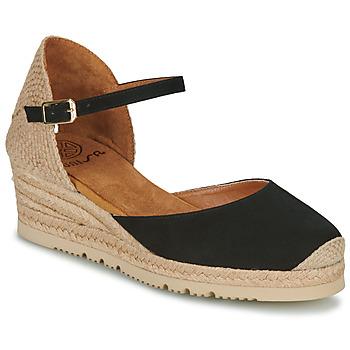 Schuhe Damen Sandalen / Sandaletten Unisa CISCA Schwarz
