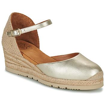 Schuhe Damen Sandalen / Sandaletten Unisa CISCA Gold