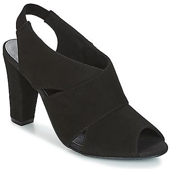 Schuhe Damen Sandalen / Sandaletten KG by Kurt Geiger FOOT-COVERAGE-FLEX-SANDAL-BLACK Schwarz
