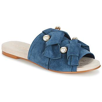 Schuhe Damen Pantoffel KG by Kurt Geiger NAOMI-BLUE Blau