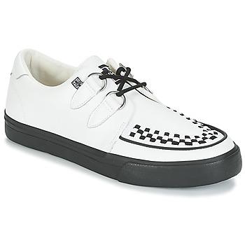 Schuhe Sneaker Low TUK CREEPERS SNEAKERS Weiss / Schwarz