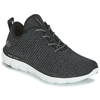 Schuhe Damen Fitness / Training Skechers FLEX APPEAL 2.0 Schwarz