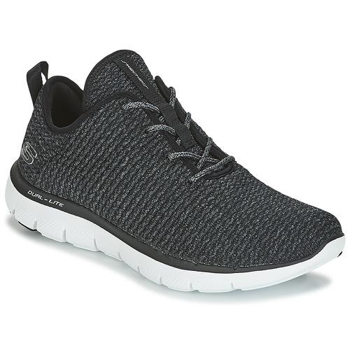Skechers FLEX APPEAL 2.0 Schwarz  Schuhe Fitnessschuhe Damen 49