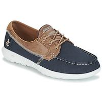 Schuhe Damen Bootsschuhe Skechers GO WALK LITE Marine