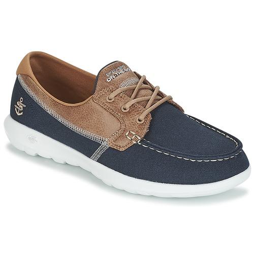 Skechers GO WALK LITE Marine Schuhe Bootsschuhe Damen 45,50