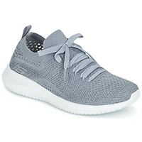 Schuhe Damen Sneaker Low Skechers ULTRA FLEX Grau
