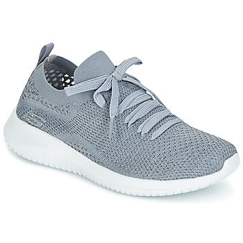 Schuhe Damen Fitness / Training Skechers ULTRA FLEX Grau
