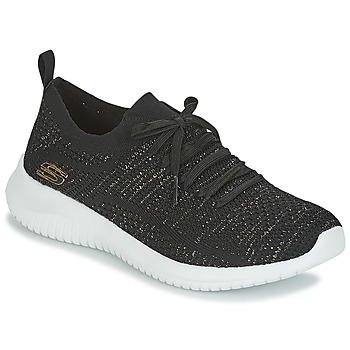 Schuhe Damen Fitness / Training Skechers ULTRA FLEX Schwarz