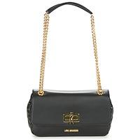 Taschen Damen Umhängetaschen Love Moschino JC4021PP15 Schwarz