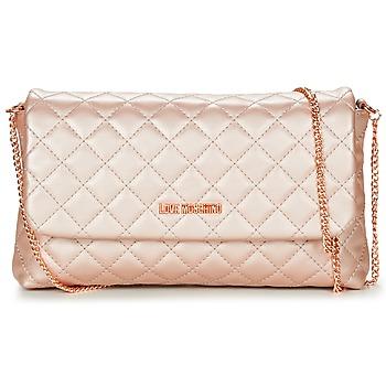 Taschen Damen Umhängetaschen Love Moschino JC4098PP15 Rose / Gold