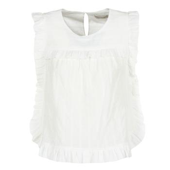 Kleidung Damen Tops / Blusen See U Soon 8111036 Weiss