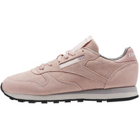 Schuhe Damen Sneaker Low Reebok Classic Classic Leather Weathered & Washed Lila