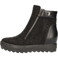 Schuhe Damen Ankle Boots Laura Biagiotti 2145 BLACK