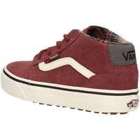Schuhe Jungen Sneaker High Vans VN-0 A3DQBOGV Sneakers Junge BORDEAUX BORDEAUX