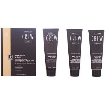 Beauty Herren Accessoires Haare American Crew Precision Blend Set 7-8 Light 3 Pz 3 u
