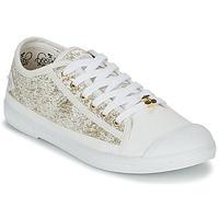 Schuhe Damen Sneaker Low Le Temps des Cerises BASIC 02 Gold